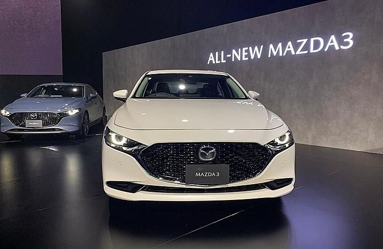 Mazda3 trong lần ra mắt tại Thái Lan, tháng 9/2019. Ảnh: Ngọc Điệp