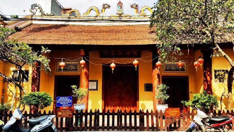 Đền Bạch Mã -ngôi đền thiêng trấn Đông thành Thăng Long