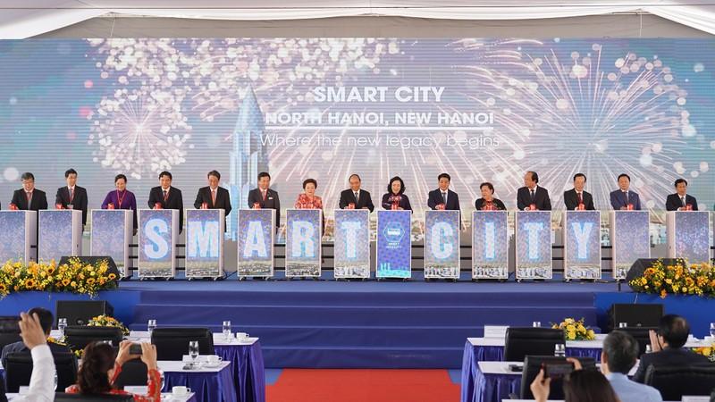 Động thổ dự án thành phố thông minh hơn 4 tỷ USD