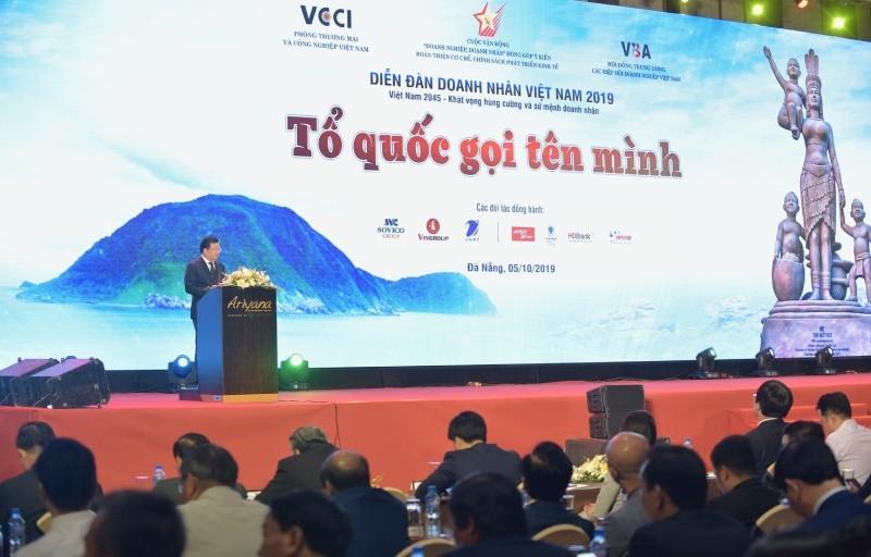 """Phó Thủ tướng Trịnh Đình Dũng: """"Doanh nghiệp, doanh nhân phải luôn đi đầu trong tuân thủ pháp luật"""""""