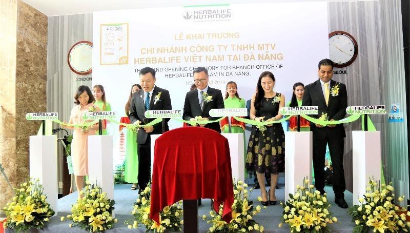 Herbalife Việt Nam khai trương văn phòng chi nhánh tại Đà Nẵng