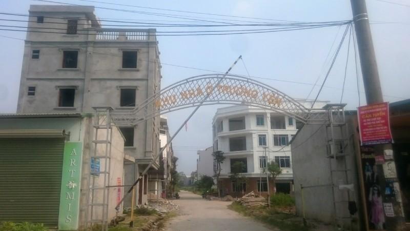 Một góc khu nhà ở Trường  Yên