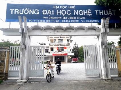 Trường ĐH Nghệ thuật thuộc ĐH Huế