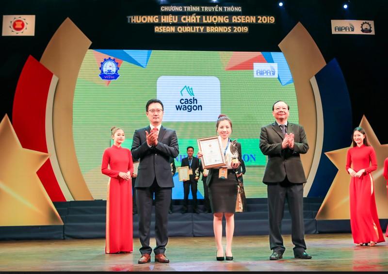 Cashwagon Việt Nam - Top 10 Thương hiệu Chất Lượng ASEAN 2019