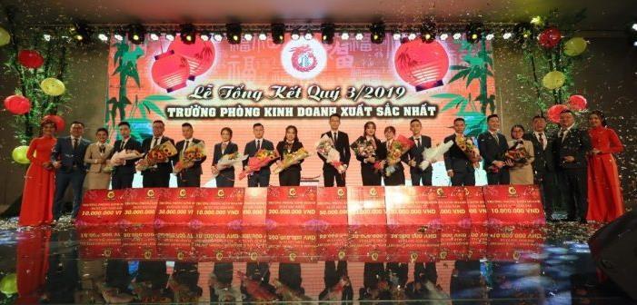 Địa ốc Long Phát long trọng tổ chức Lễ Tổng kết quý III 2019