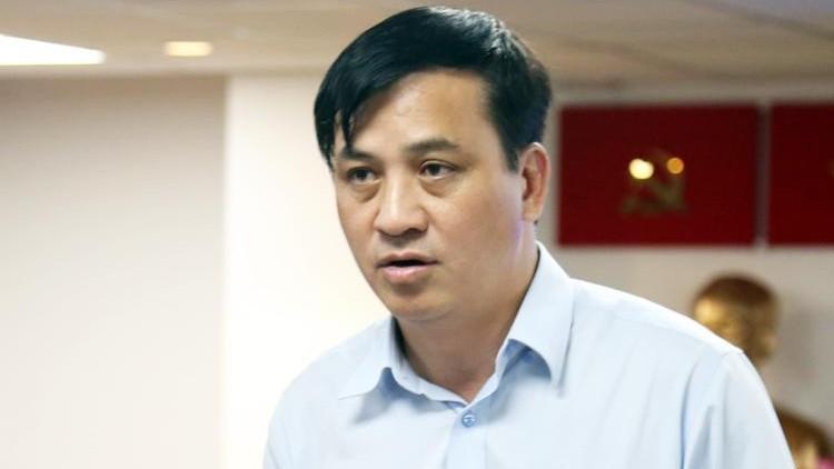 Giám đốc Sở Xây dựng TP HCM Lê Hòa Bình. Ảnh: Trung Sơn/VnExpress
