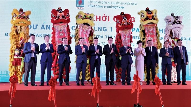 Kho chứa LNG Thị Vải khởi công với sự chứng kiến của lãnh đạo Quốc hội, Ủy ban quản lý vốn