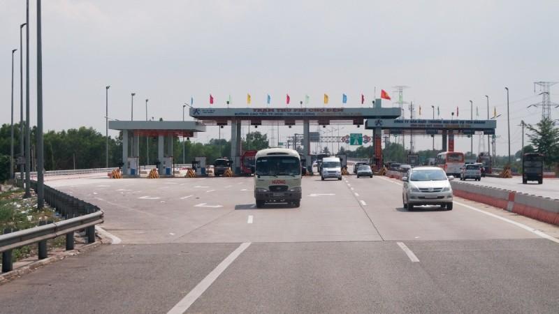 Trạm thu phí cao tốc TP HCM - Trung Lương
