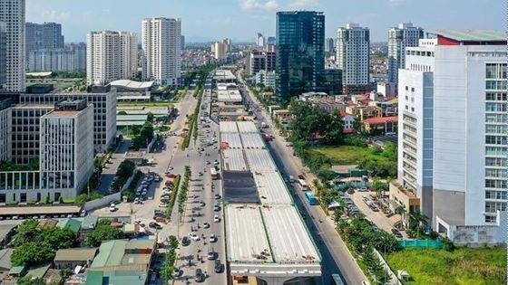 Dự án đường vành đai 3 mở rộng đoạn Mai Dịch - cầu Thằng Long
