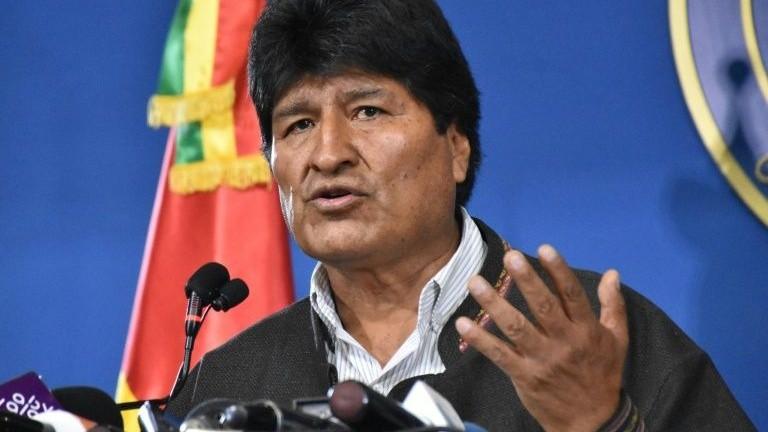 Tổng thống Bolivia từ chức