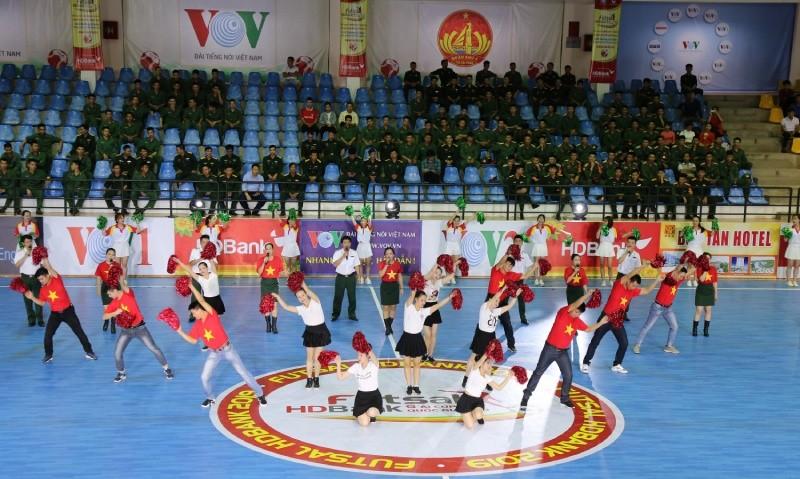 Giải Futsal HDBank Cúp Quốc gia 2019 chính thức khai mạc ngày 18/11 tại TP Vinh, Nghệ An