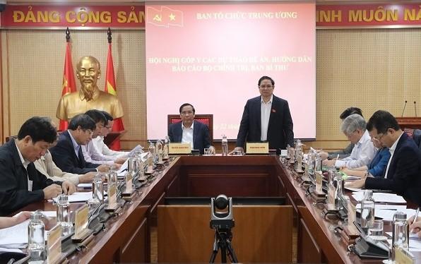 Góp ý dự thảo quy định của Bộ Chính trị về công tác cán bộ