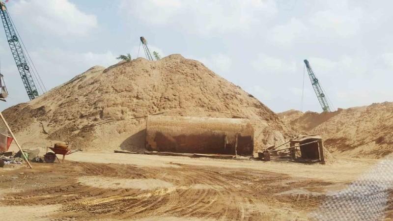 TP HCM: Xử lý tình trạng mua bán vật liệu xây dựng gây ô nhiễm