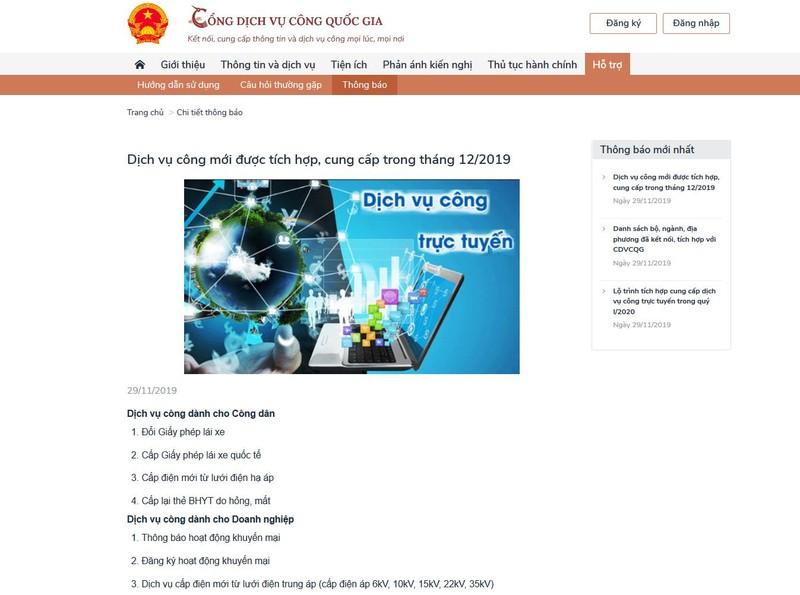 TP Hồ Chí Minh: Sẵn sàng kết nối Cổng dịch vụ công quốc gia