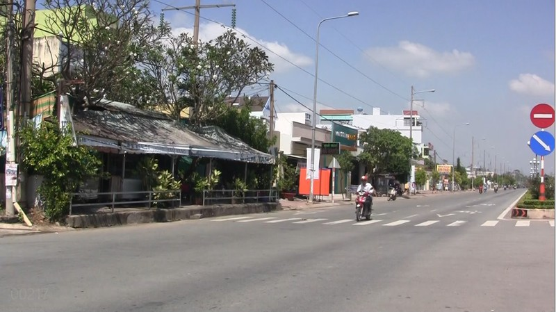 Quốc lộ 1A đoạn đi qua thành phố Tân An