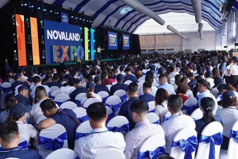 Không khí sôi động tại Triển lãm BĐS Novaland Expo 2019