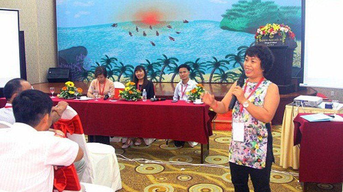 Chị Phạm Thị Minh luôn nhìn thẳng vào quá khứ của mình để giúp đỡ người lạc lối