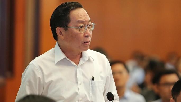 Giám đốc Sở Y tế TP HCM Nguyễn Tấn Bỉnh. Ảnh NLĐO