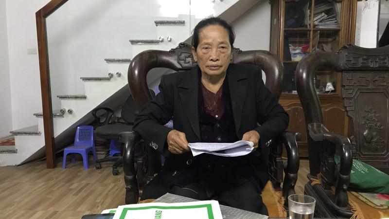 Bà Chu Thị Chắt mòn mỏi chờ được hưởng chế độ chính đáng của mình