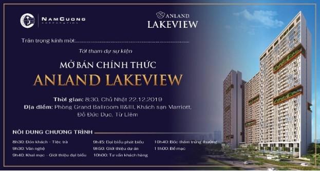 Chính thức mở bán Anland Lakeview