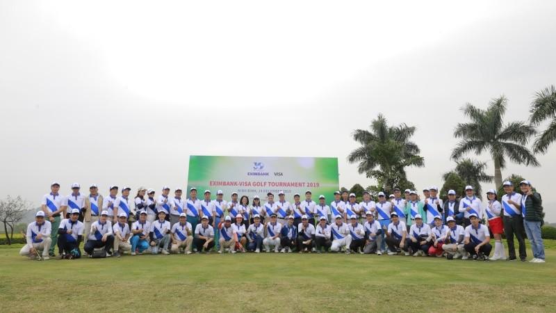 Eximbank tổ chức giải Golf Eximbank - Visa golf tournament 2019