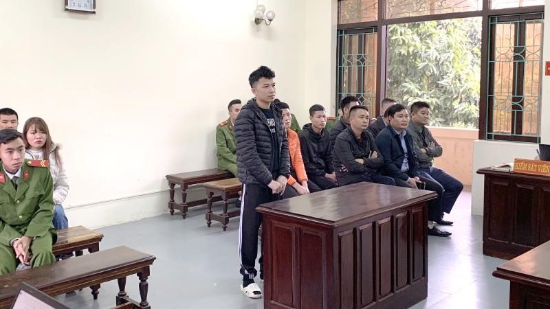 Bị cáo Lam tại phiên phúc thẩm