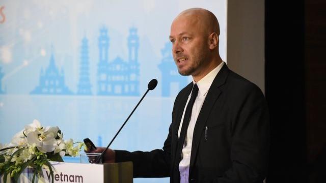 Ông Kai Partale - Chuyên gia phát triển du lịch thuộc Dự án xây dựng Bộ chỉ số năng lực cạnh tranh du lịch Việt Nam thử nghiệm (VTCI) do Liên minh châu Âu tài trợ