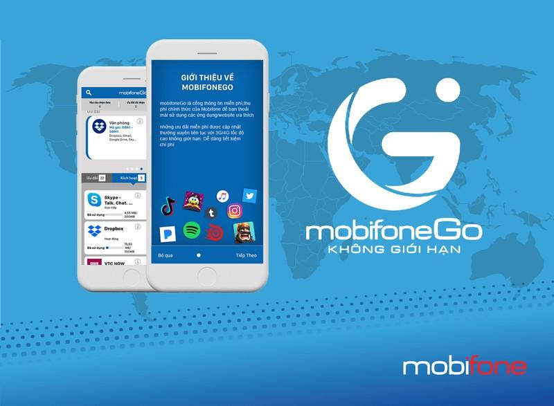 Miễn phí data truy cập nhiều ứng dụng cùng MobiFoneGo