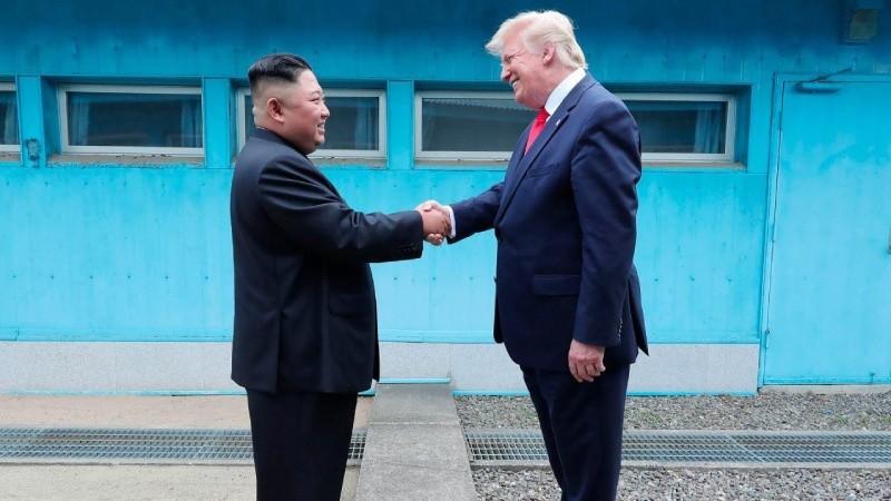 Cuộc gặp Trump  - Kim ngẫu hứng ở Khu Phi quân sự ngày 30/6/2019