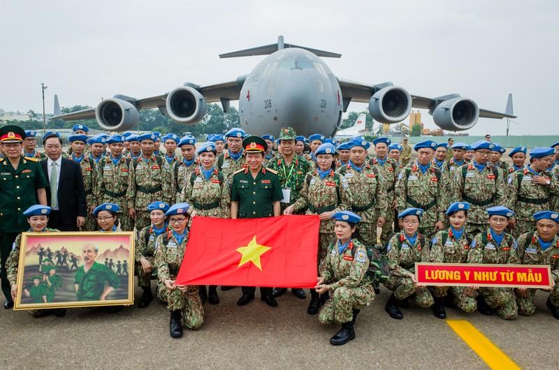 Lực lượng gìn giữ hòa bình Việt Nam lên đường làm nhiệm vụ quốc tế