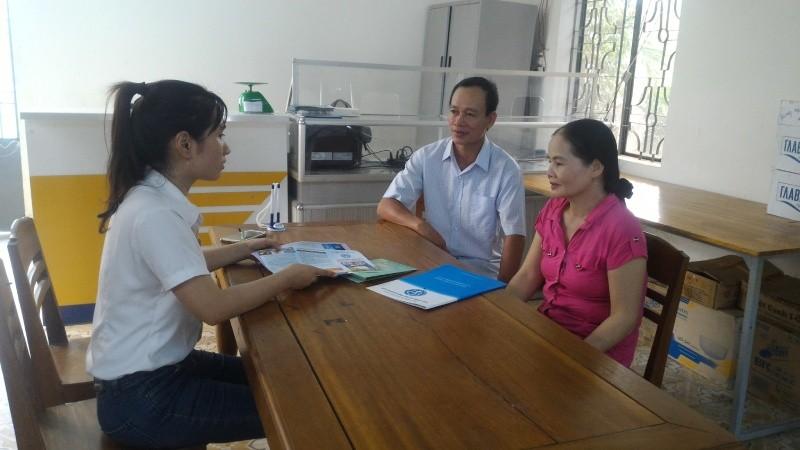 Anh Nguyễn Văn Phúc cho biết, tôi tham gia BHXH tự nguyện để được hưởng lương hưu và BHYT khi về già