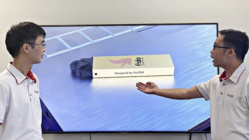 Thiết kế mẫu sản phẩm VinCSS FIDO2 Authenticator phiên bản USB Touch