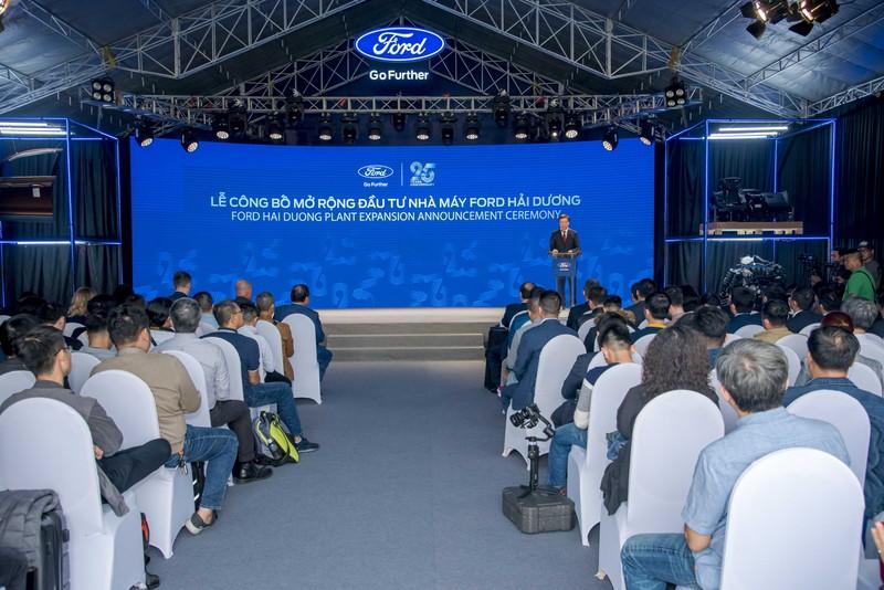 Ford Việt Nam công bố gói 82 triệu USD đầu tư mở rộng nhà máy Hải Dương