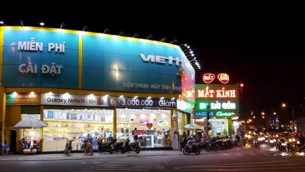 Cửa hàng Viettel trộm đột nhập