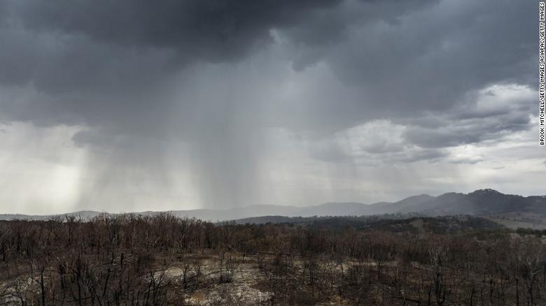 Mưa dông xuất hiện ở miền Đông Australia. (Nguồn: Getty Images)