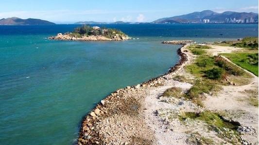 Dự án Công viên văn hóa, giải trí, thể thao Nha Trang Sao từng bị thu hồi do lấn biển