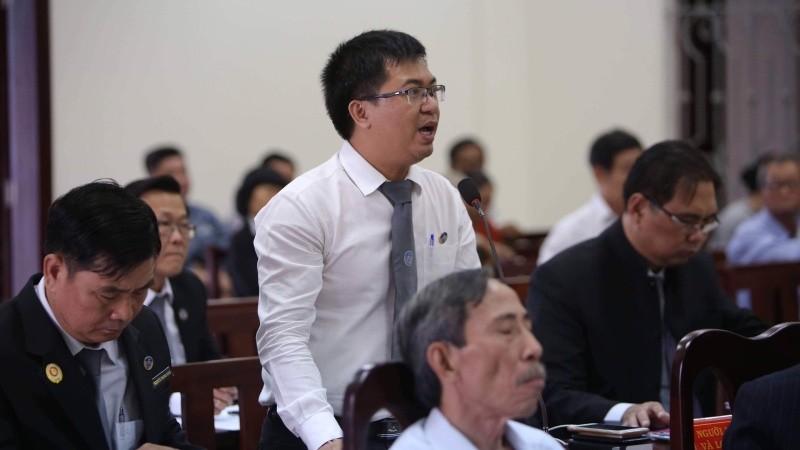 LS Hiệp tham gia một phiên tòa
