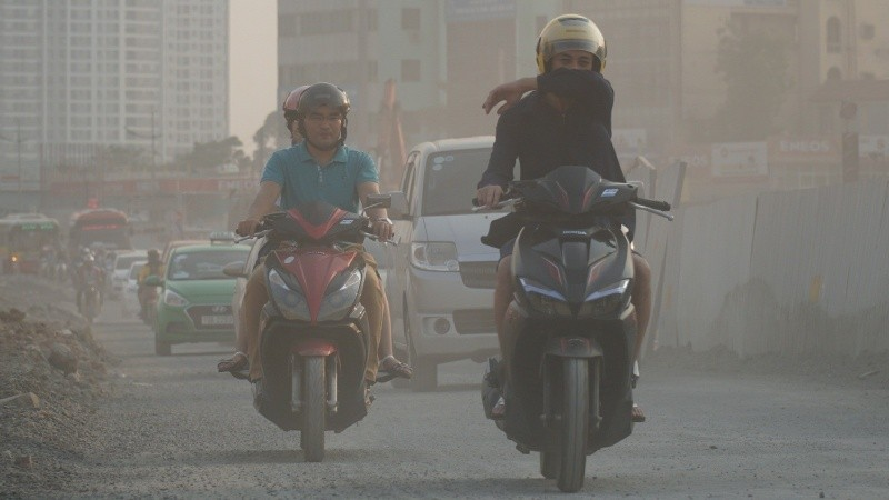 Nhiều TP lớn của Việt Nam đang đối diện với nạn ô nhiễm không khí