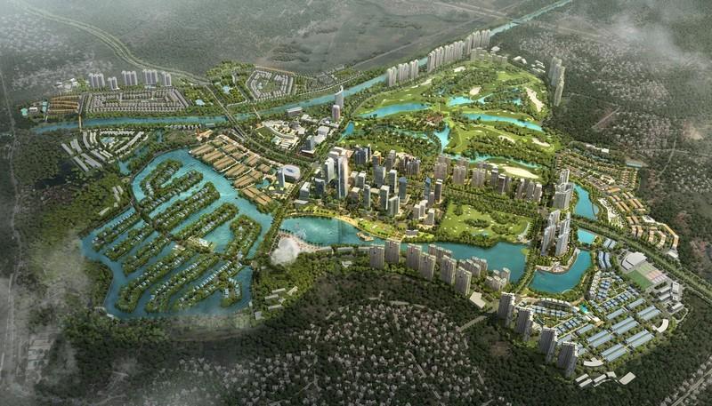 Thành phố xanh Ecopark