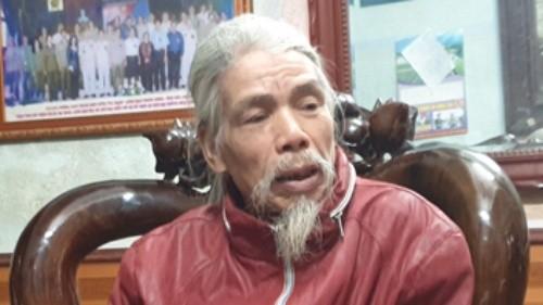 Ông Bùi Văn Vin bức xúc bị mất đất nhưng không được bồi thường