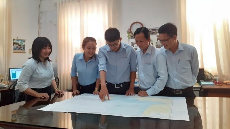 Cán bộ Trung tâm Kỹ thuật Tài nguyên và Môi trường tỉnh Kiên Giang phát triển cả về số lượng cũng như về chất lượng