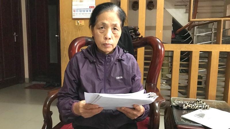 Chị em bà Điểm cho biết UBND huyện Đông Anh đã cấp GCN thiếu đối tượng được hưởng thừa kế