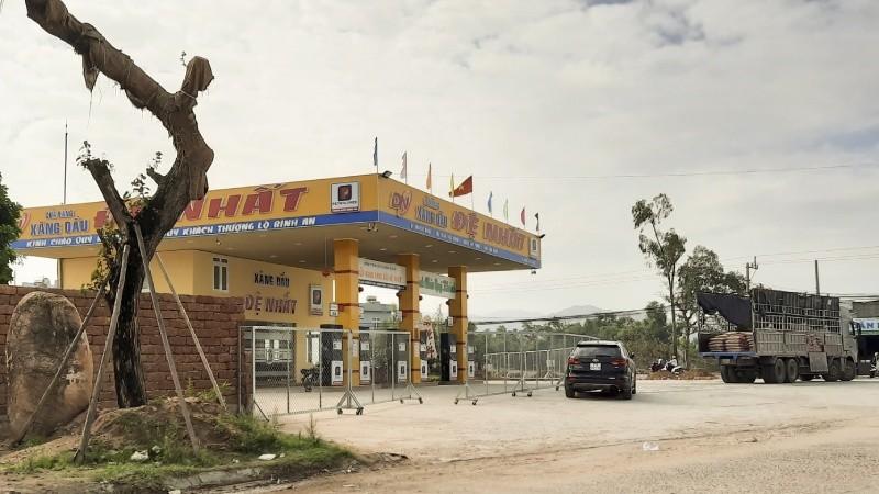 Cửa hàng xăng dầu xin phép hoạt động khi chưa được nghiệm thu về PCCC.