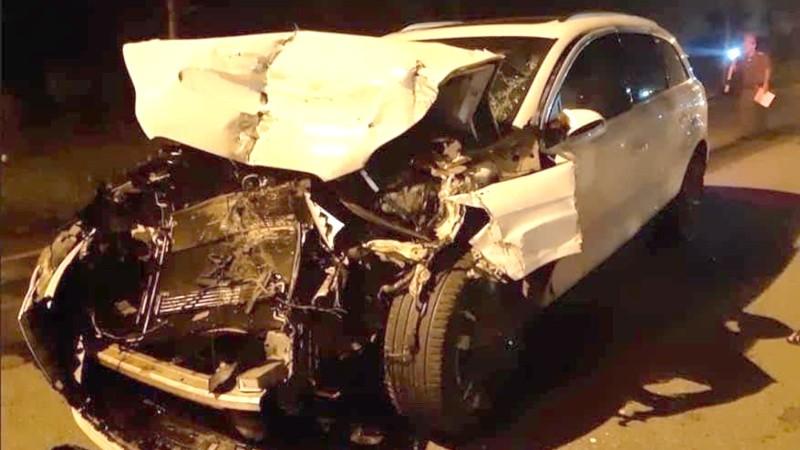 "Chiếc xe hai lần ""gặp nạn"" sau khi tham gia bảo hiểm tại PTI."