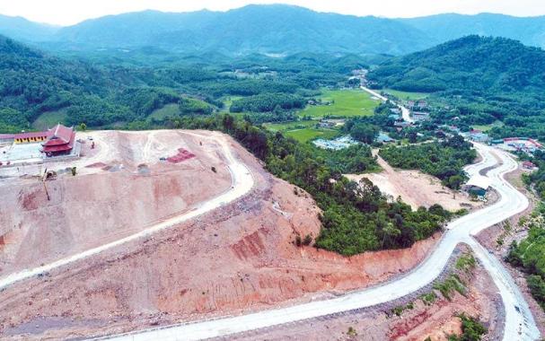 GPMB để xây dựng Khu Tây Yên Tử
