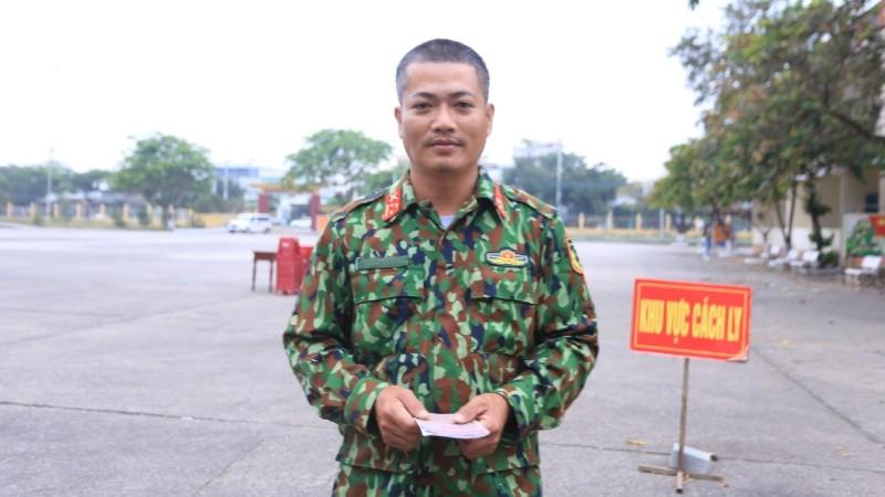 Đại úy Võ Mai Bình.