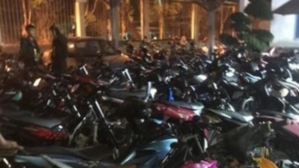 Xử lý 30 đối tượng chạy xe gây rối trên đường Đồng Nai