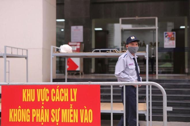Hà Nội phong tỏa toà 34T Trung Hoà Nhân Chính vì có người dương tính SARS-Cov-2 - ảnh 4