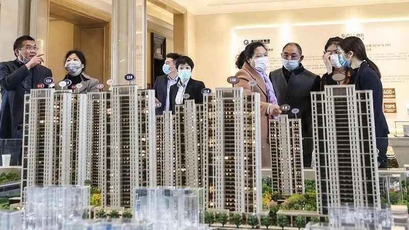 Thị trường bất động sản Trung Quốc phục hồi sau khủng hoảng Covid-19. (Nguồn: chinadaily.com)