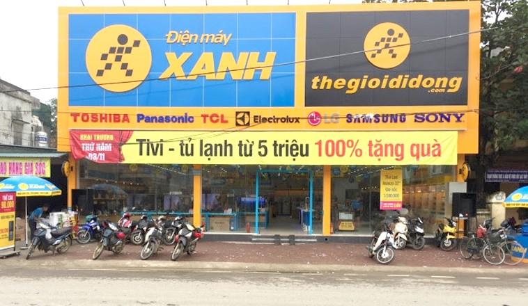 Sử dụng đất sai mục đích khi cho Cty CP Thế giới di động thuê nhà tại chi nhánh huyện Lạc Thủy